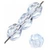 Fire polished 4mm Light sapphire
